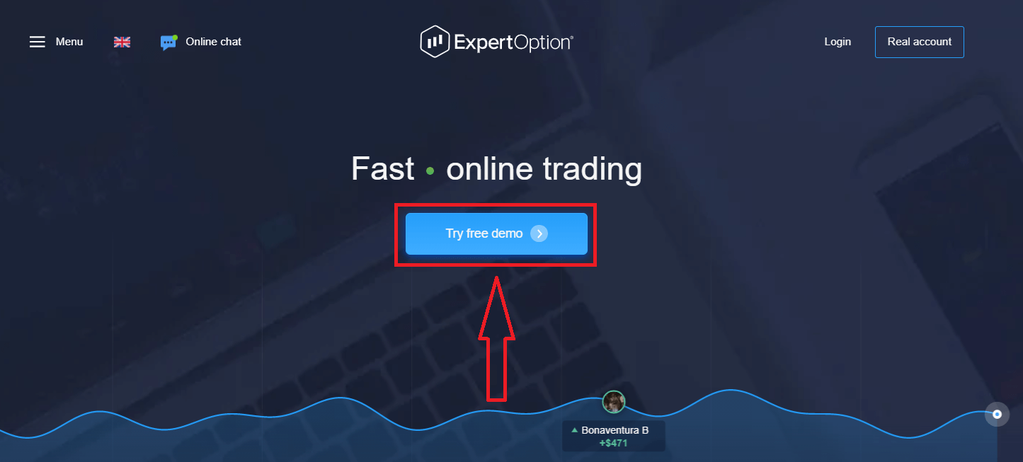 How to Open a Trading Account in ExpertOption