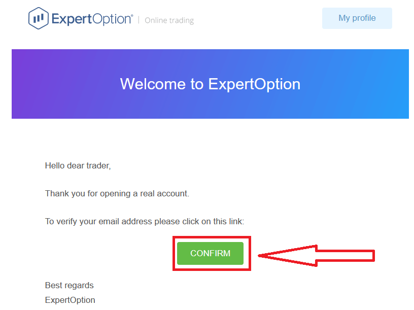 How to Register and Verify Account in ExpertOption